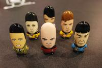Mimobot's new Star Trek USB thumb drives! So very cool!