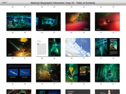 Visual Index, National Geographic