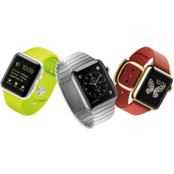 Three Apple Watches