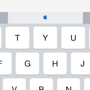 Typing an Apple Symbol in iOS