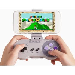 SNES30 Bluetooth Game Controller and Smartphone Holder