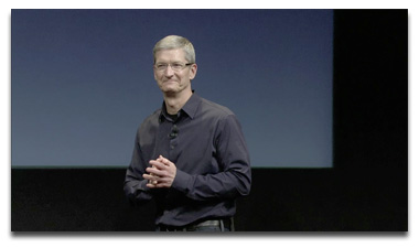Tim Cook at iPhone 4S Unveiling
