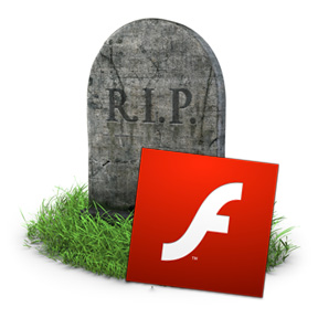 Adobe Flash, dead for mobile devices