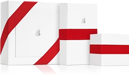 Apple gift wrapping, for free