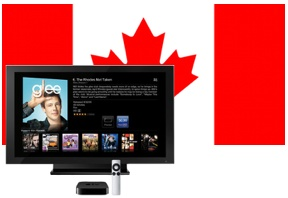 Apple TV in Canada, now with TV show purchases