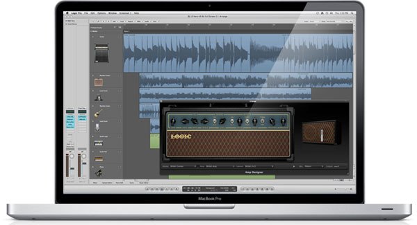 Logic Pro Screen
