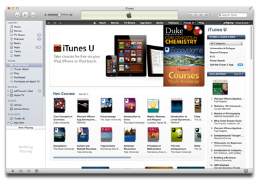 iTunes 10.5.3 adds textbook sync support