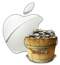 Apple's big bucket of money