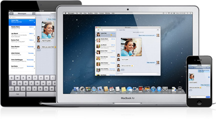 Messages won't support Lion when Mountain Lion ships