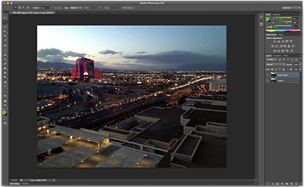 Photoshop CS6's new interface