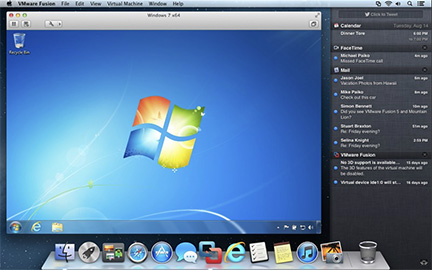 VMware Fusion 5 adds Mountain Lion, Windows 8 support