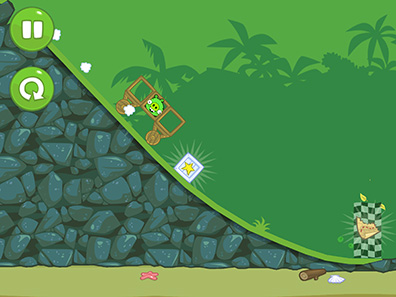 Bad Piggies go on the hunt for Angry Bird's eggs