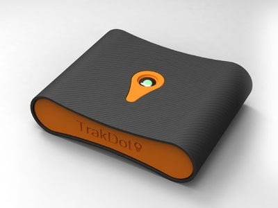 Trakdot Reports Your Luggage's Location in Real Time