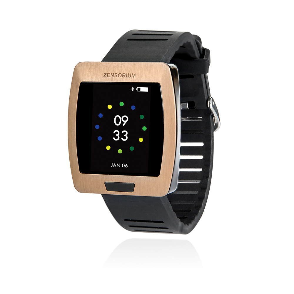 CES 2015 - Zensorium Gets Moody with Being Smartwatch