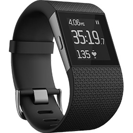 Fitbit Surge blends fitness tracking with smart watch features, but will have to take on Apple Watch