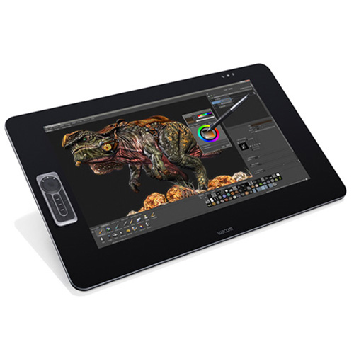 CES 2015 - Wacom Intros New Hiresolution Cintiq 27QHD and 27QHD touch Graphics Tablets