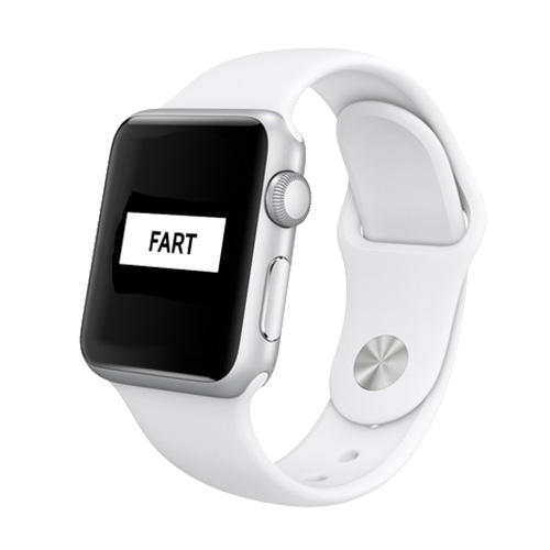 Apple Watch isn't Here Yet, but the Fart Apps Are