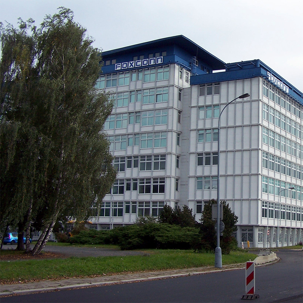 Foxconn's main iPhone production center caught fire. This is another location that isn't burning.