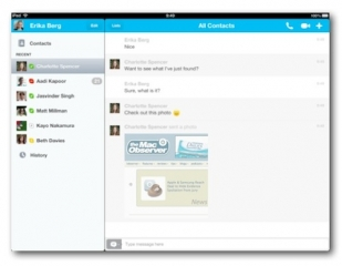 Skype adds Microsoft Messenger support to iPhone, iPad