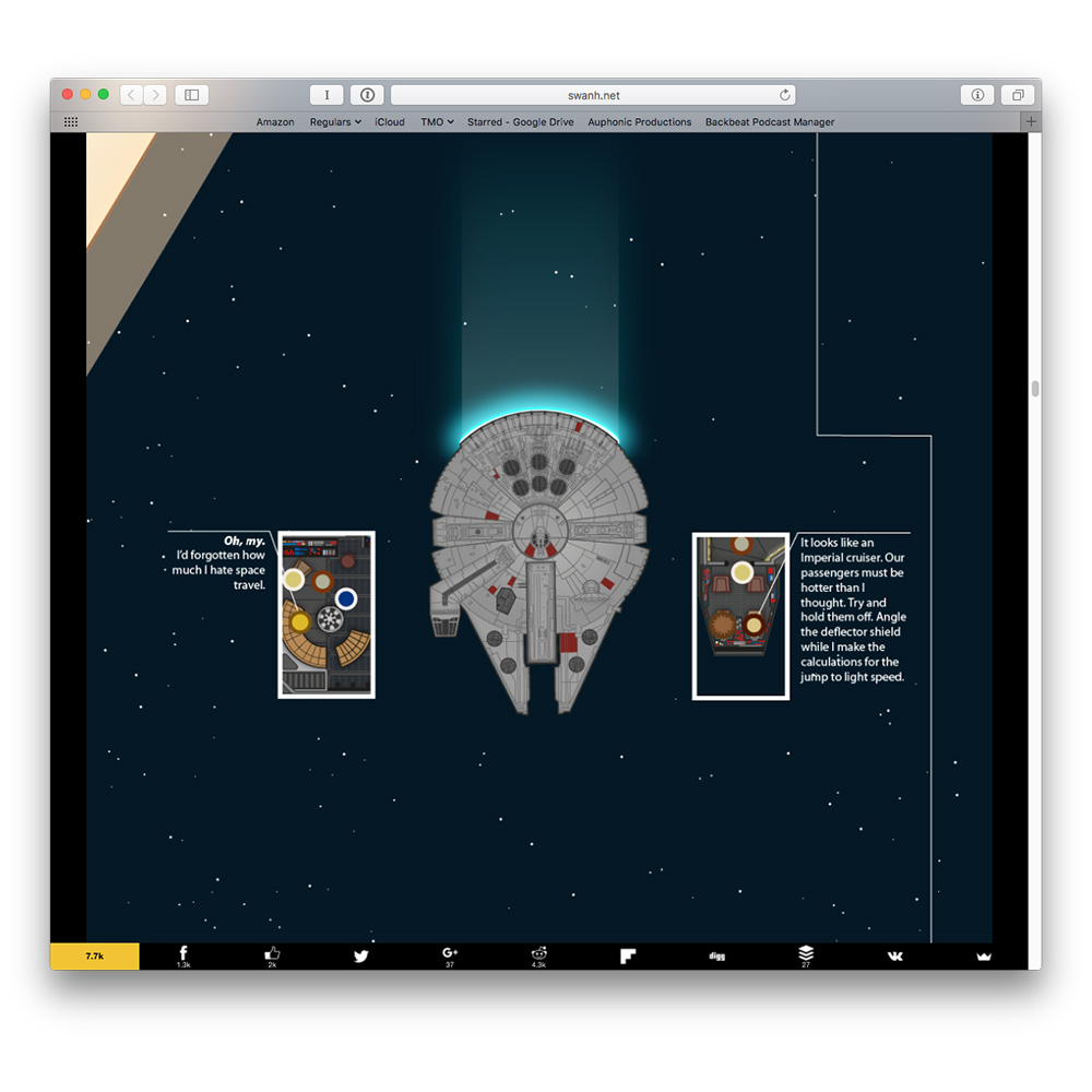Star Wars as an Infographic is Fantastically Awesome