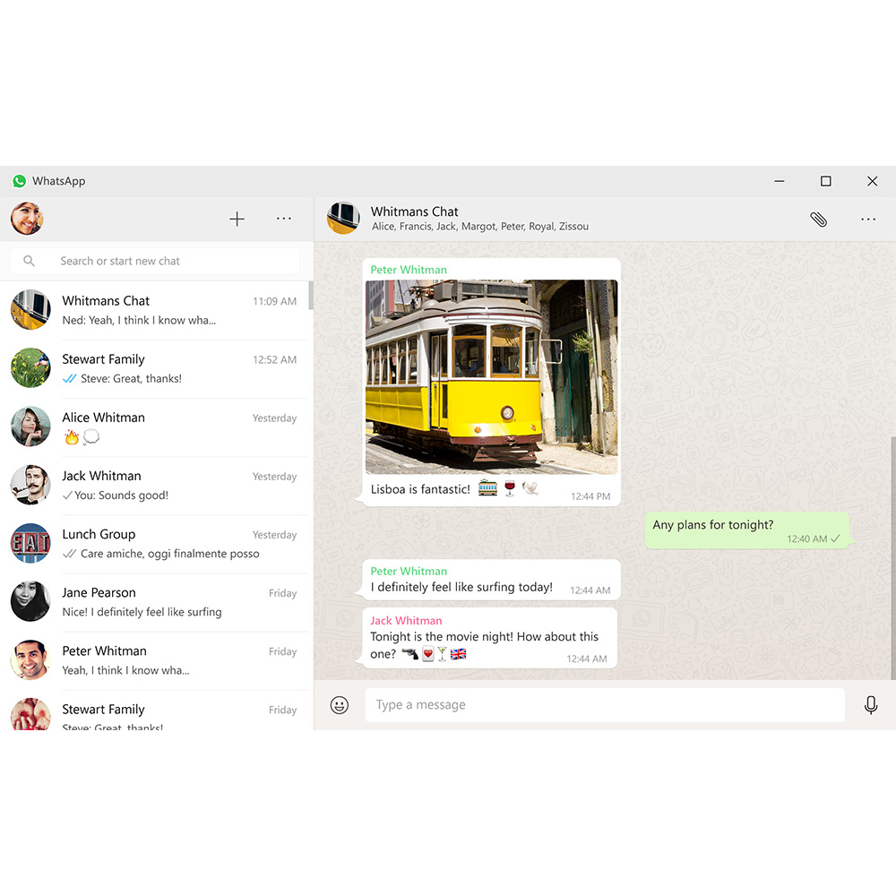 Whatsapp goes Native on OS X and Windows