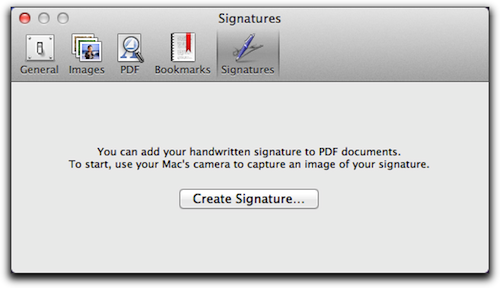 OS X Lion: Adding Your Signature to PDFs Through Preview - The Mac ...