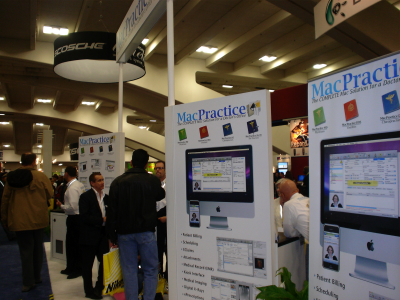 MacPractice MWSF2009 booth