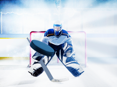 NHL goalie