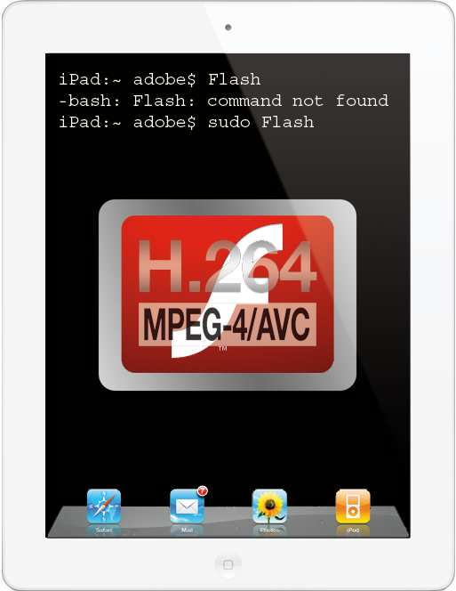 Pseudo Flash Video Streaming on Your iPad
