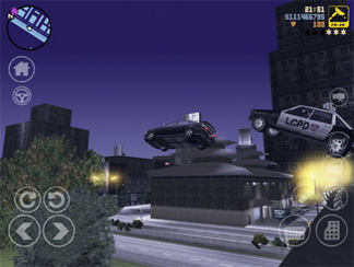 Grand Theft Auto 3 for the iPhone and iPad