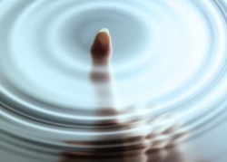 Ripples with touch interface