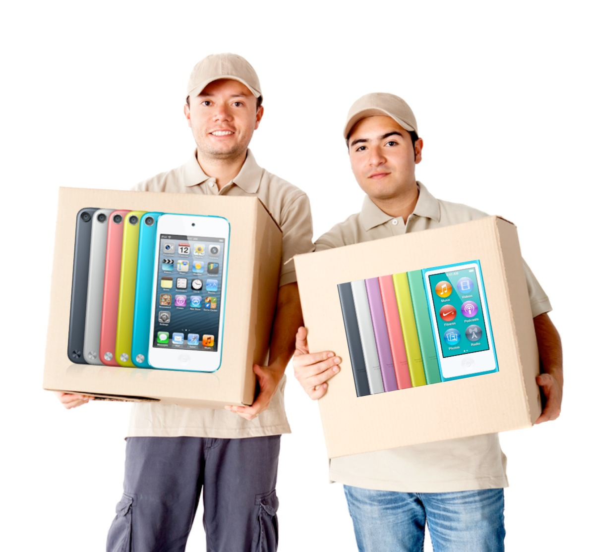 iPods Shipping