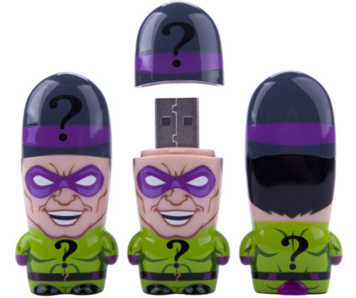 The Riddler Is Ready to Store Your Data