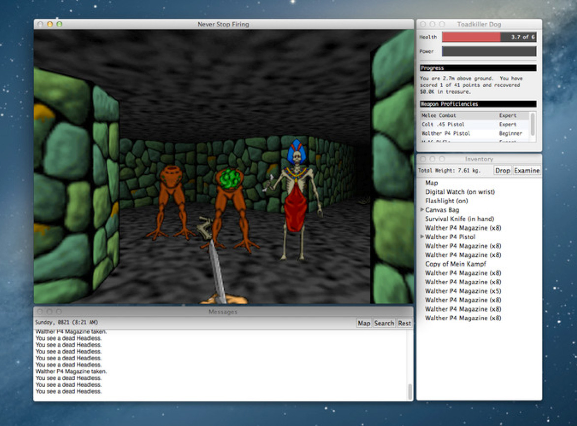 Pathways Into Darkness. On the Mac. For Free