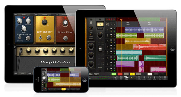 AmpliTube 3 for iPad & iPhone Offers 8-Track Recording, More