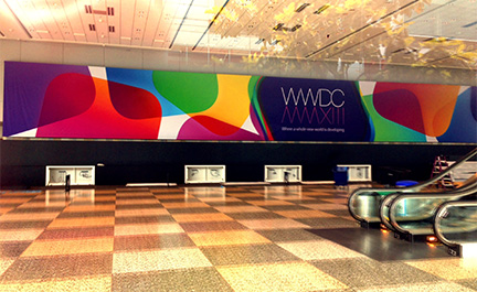 Apple is prepping inside Moscone West for WWDC, too