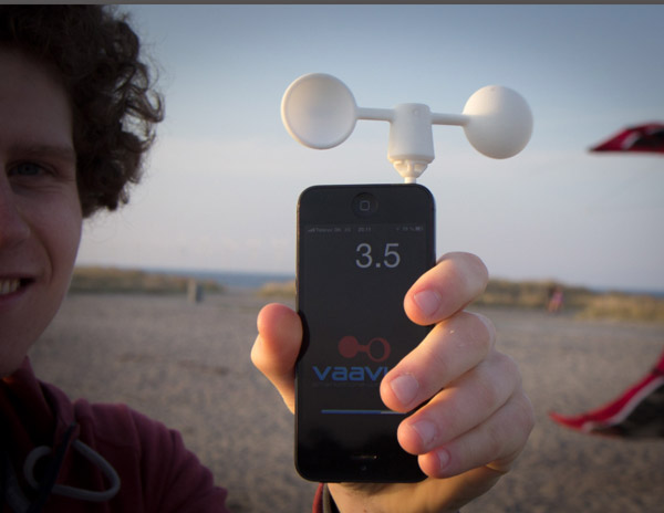 ByteMyApple.co Ships Vaavud Wind Meter for iPhone and iPad