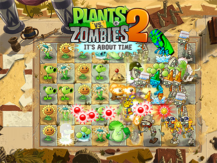Plants vs. Zombies 2 for iPhone, iPad Lumbers into the US