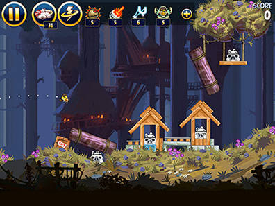 Angry Birds Star Wars Goes to Endor