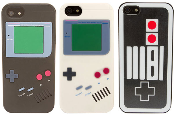 Rocketcases Goes Retro with Gameboy and Nintendo Controller Cases for iPhone 5s