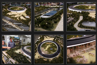 Mercury News Posts 23 Awesome Photos of Apple's Spaceship HQ Model