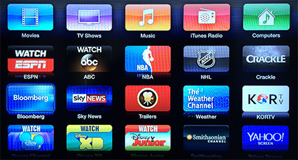 Apple TV gets ABC, Bloomberg, more