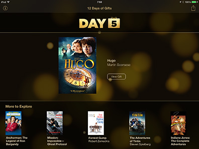 Apple gives away Hugo as free holiday download