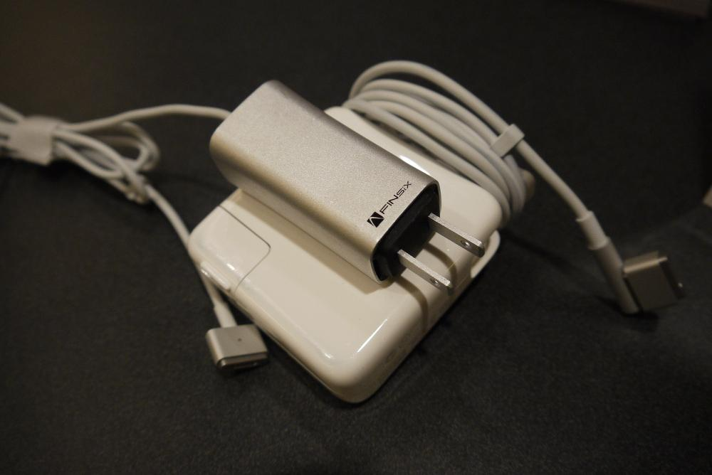 Your Ultra-Portable MacBook Deserves the Ultra-Portable FINsix Power Adapter
