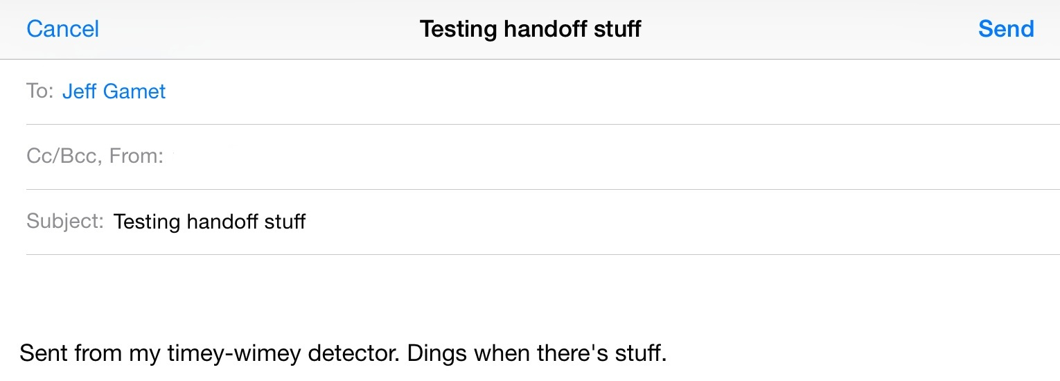 iOS 8: Using Handoff on Mobile Devices