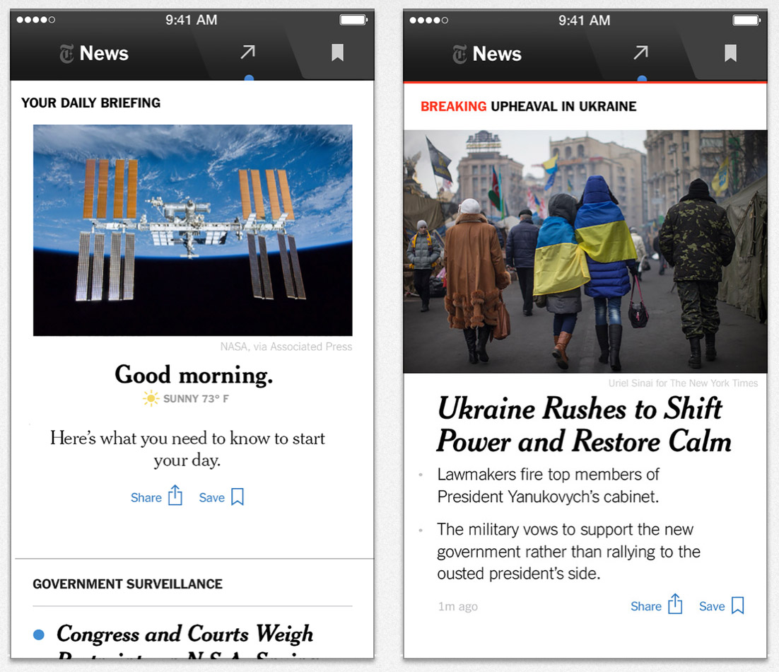 New York Times Offers Free Storm Coverage
