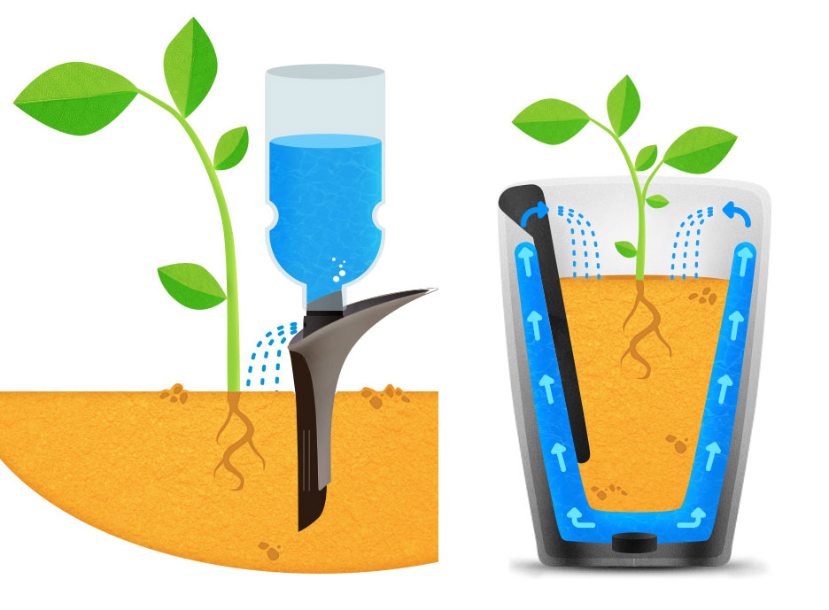 CES 2015 - Parrot Pot and Parrot H2O Monitor and Water Your Plants and Report to Your iPhone