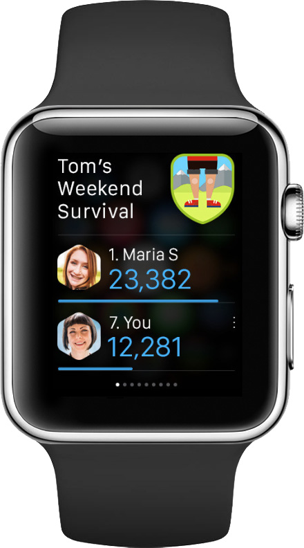Track your fitness activities and compete with friends with Argus