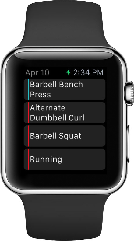 Fitlist is your personal trainer on your wrist