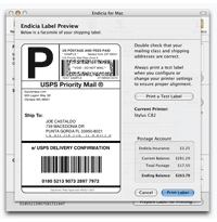 Endicia Shows First Mac Software-Only Internet Postage